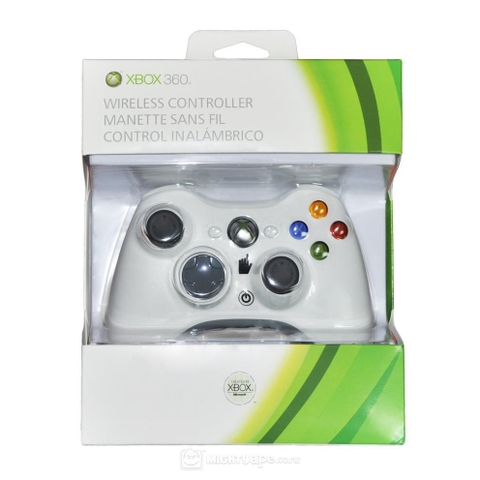 Tay XBox 360 Wireless White
