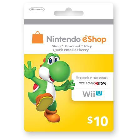 Nintendo Switch Eshop 10$
