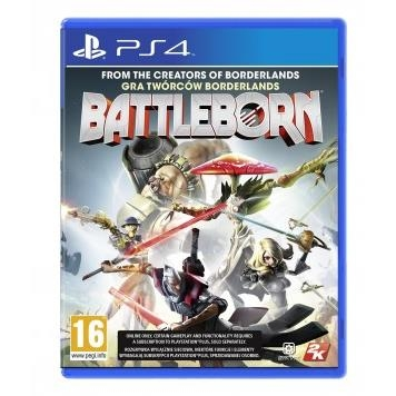 Đĩa Game Cho PS4 Battleborn