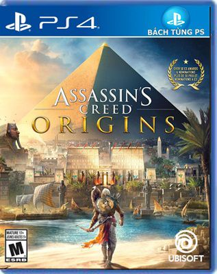 Assassin's Creed Origins Ps4 hệ Us