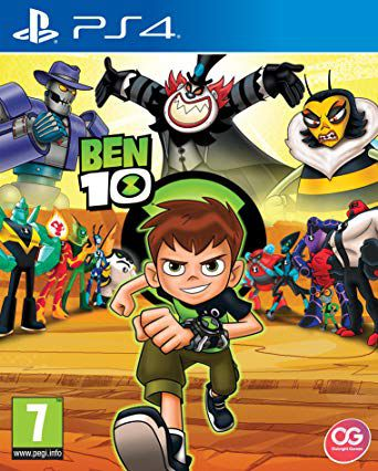 Đĩa Game Ps4 Ben 10