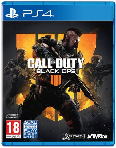 CALL OF DUTY  BLACK OPS 4 Ps4 hệ  Asia