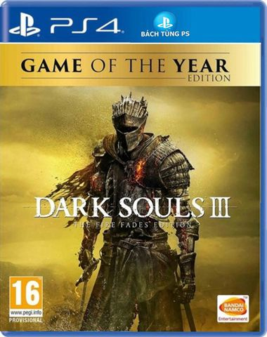 Dark Souls 3 The Fire Fades Edition -GOTY PS4