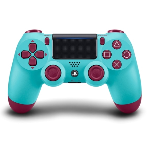 Tay cầm chơi game  Playstation 4 Sony Dual Shock 4 Wireless Controller Xanh - Berry Blue