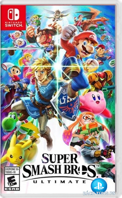 Game Nintendo Switch Super Smash Bros Ultimate