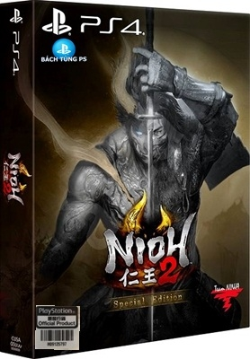 Đĩa Game Nioh 2 Special Edition Ps4