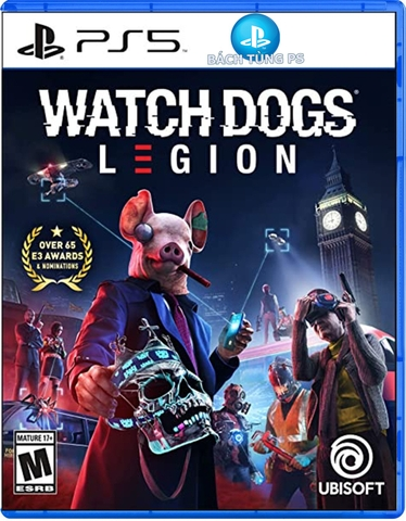 Game Watch Dogs Legion PS5