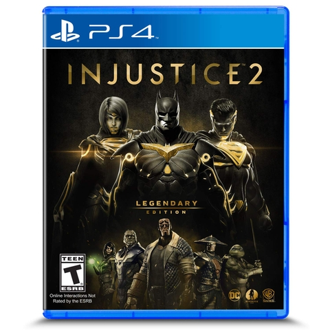 Đĩa Game PS4 Injustice 2 Legendary Edition
