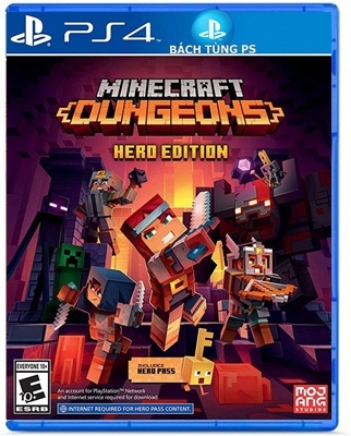 Game Minecraft Dungeons Hero Edition PS4