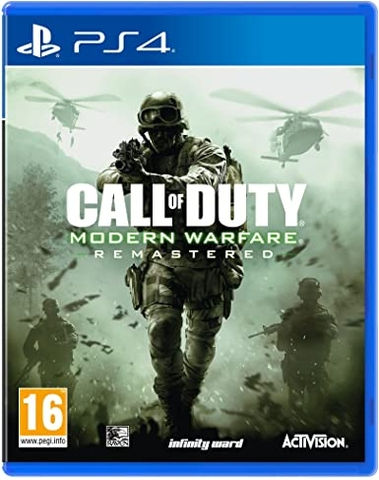 Đĩa game PS4 Call Of Duty Modern Warfare Remastered