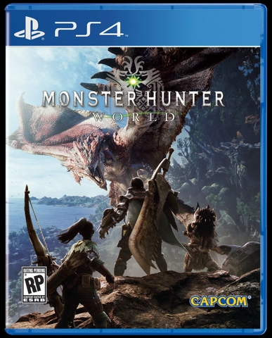 Monster Hunter World Ps4 hệ  Us
