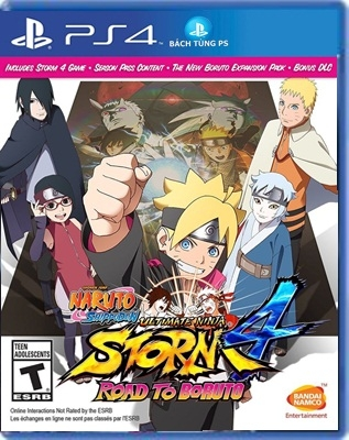 Naruto Ultimate Ninja Storm 4: Road to Boruto( Us)