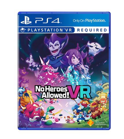 No Heroes Allowed  VR ! Ps4