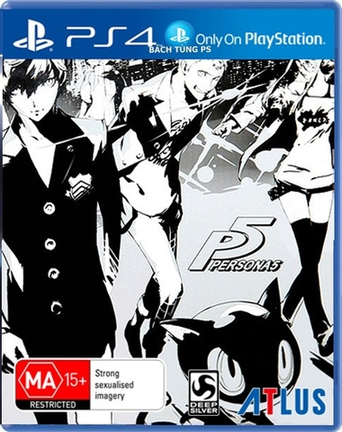 PERSONA 5 STEELBOOK EDITION (US)