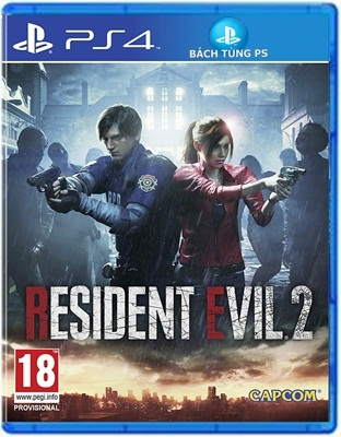 Game Resisent Evil 2 Remake Ps4