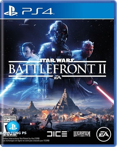 Đĩa game PS4 Star Wars Battlefront II