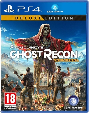 Ghost Recon Wildlands Deluxe Editon PS4