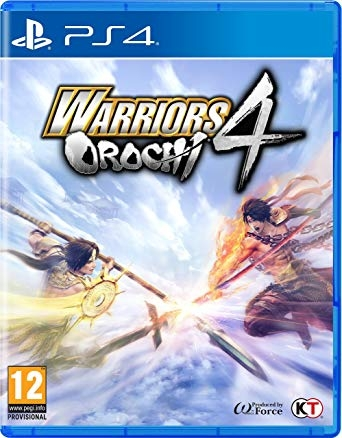 Warriors Orochi 4 Ps4 Hệ Asia