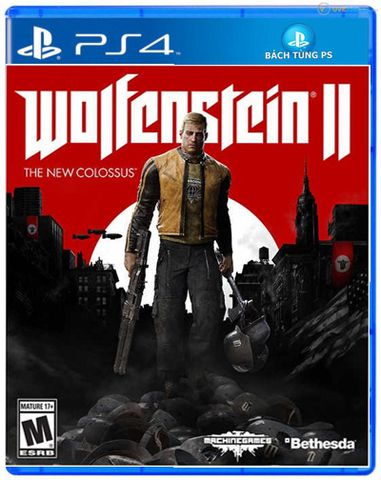 Wolfenstein II: The New Colossus Ps4-2nd