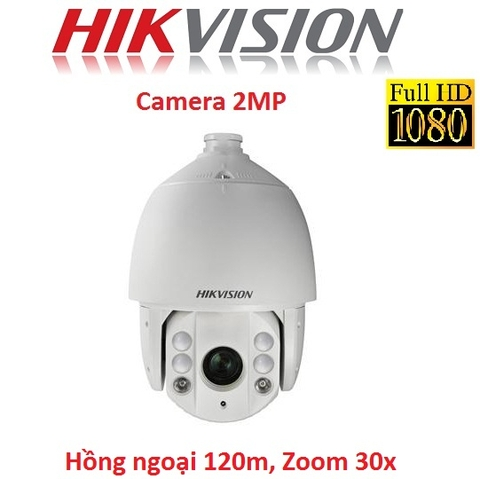 CAMERA HIKVISION 2MP DS-2AE7230TI-A SPEED DOME, ZOOM 30X