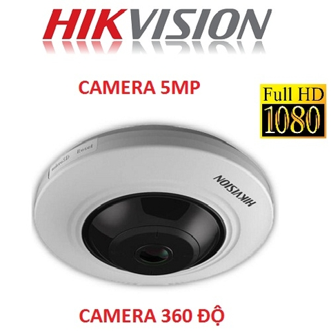 CAMERA HIKVISION 5MP 360 ĐỘ DS-2CC52H1T-FITS