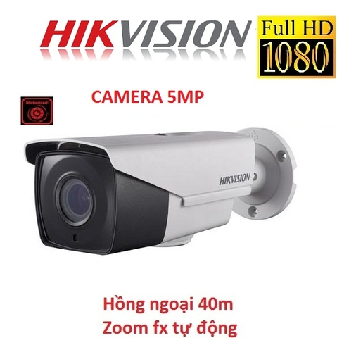 CAMERA HIKVISION 5MP DS-2CE16H1T-IT3Z ( ZOOM FX )
