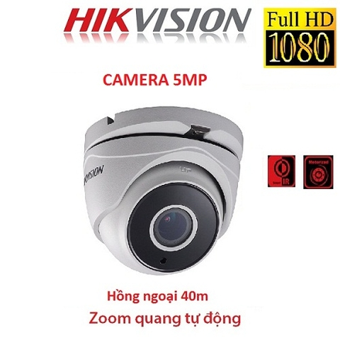CAMERA HIKVISION 5MP DS-2CE56H1T-IT3Z ( ZOOM FX )