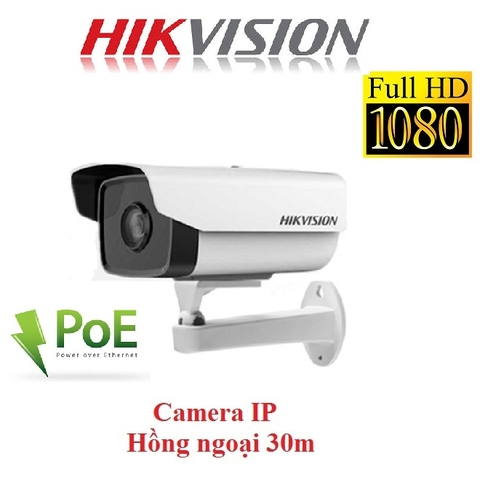 CAMERA IP HIKVISION 2MP DS-2CD2T21G0-I HỖ TRỢ PoE