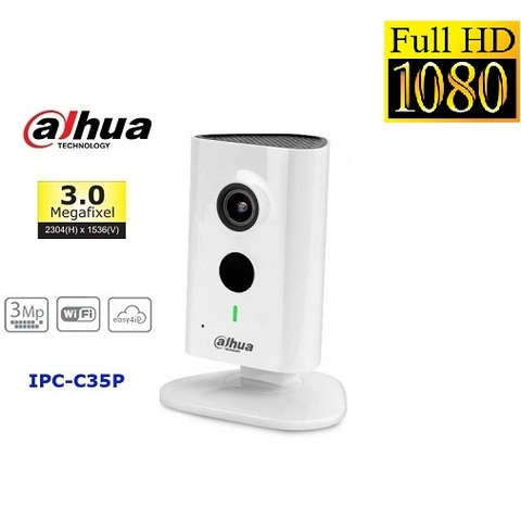 CAMERA WIFI DAHUA 3MP IPC-C35P