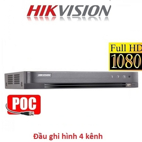 ĐẦU 4 HIKVISION FULL HD 3MP DS-7204HQHI-K1/P