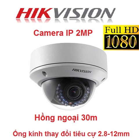 CAMERA IP HIKVISION 2MP DS-2CD2720F-I