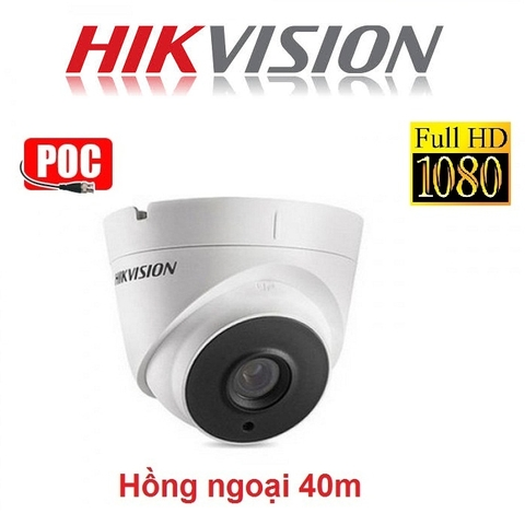 CAMERA HIKVISION 2MP DS-2CE56D0T-IT3E HỖ TRỢ POC
