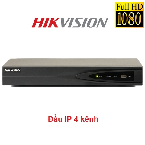 ĐẦU 4 IP HIKVISION 2MP DS-7604NI-E1
