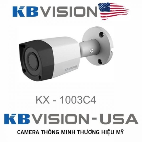 CAMERA KBVISION 1MP KX-1003C4