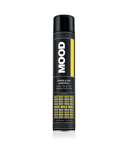 Xịt giữ nếp tóc MOOD POWER & DRY HAIR SPRAY 750ML