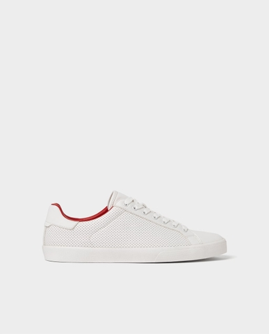 ZARA MICRO-PERFORATED PLIMSOLLS