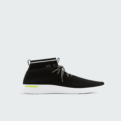 SNEAKERS PULL$BEAR BLACK SOCK -STYLE