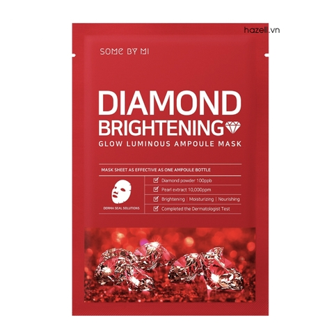 Mặt nạ SOME BY MI Diamond Brightening Glow Luminous Ampoule Mask