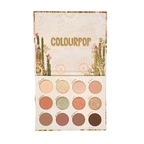 Bảng mắt ColourPop Wild Nothing Pressed Powder Palette 14.2g
