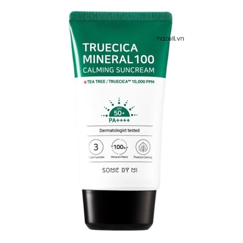 Kem chống nắng SOME BY MI Truecica Mineral 100 Calming Suncream - 50ml