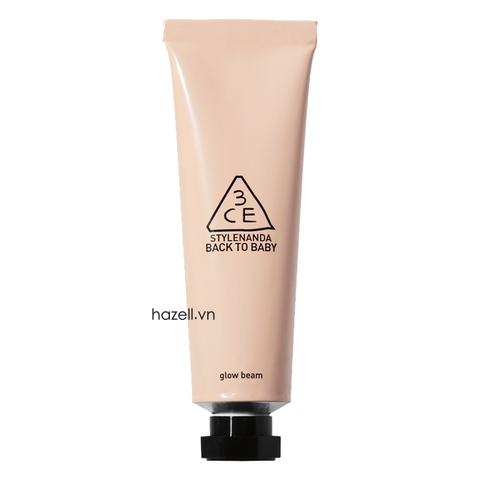 Kem lót 3CE Back To Baby Glow Beam PINK - 30ml