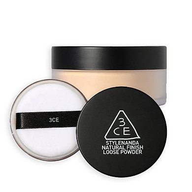 Phấn Phủ Bột 3CE Natural Finish Loose Powder - 001