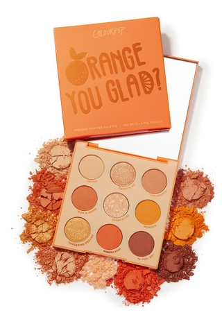 Bảng mắt Colourpop Orange You Glad Pressed Powder Palette 8g
