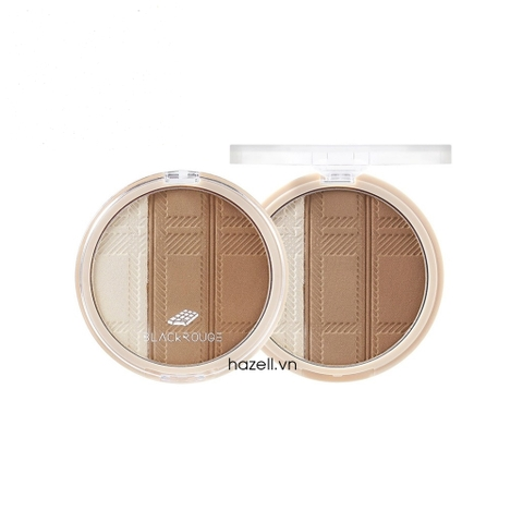 Phấn tạo khối Black Rouge Up and Down Triple Contouring
