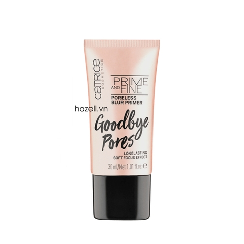 Kem Lót Catrice Prime And Fine Poreless Blur Primer Goodbye Pores 30ml (Vỏ Hồng)