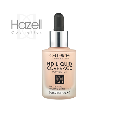 Kem Nền Catrice HD Liquid Coverage Foundation ( lọ tròn  )