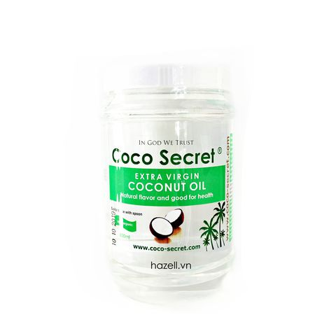 Dầu dừa Coco Secret Extra Virgin Coconut Oil