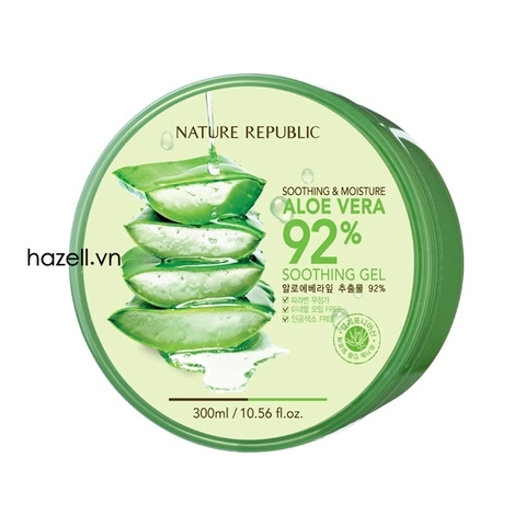 Gel nha đam Nature Republic Smoothing & Moisture Aloe Vera 92 %