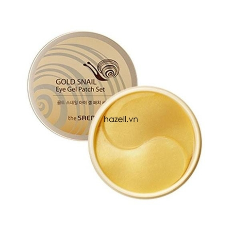 Mặt nạ đắp mắt The SAEM Gold Snail Eye Gel Patch Set