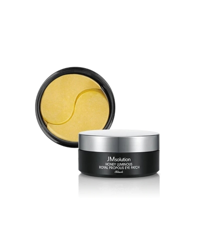Mặt nạ đắp mắt JM Solution Honey Luminous Royal Propolis Eye Patch - Black ( hộp đen )